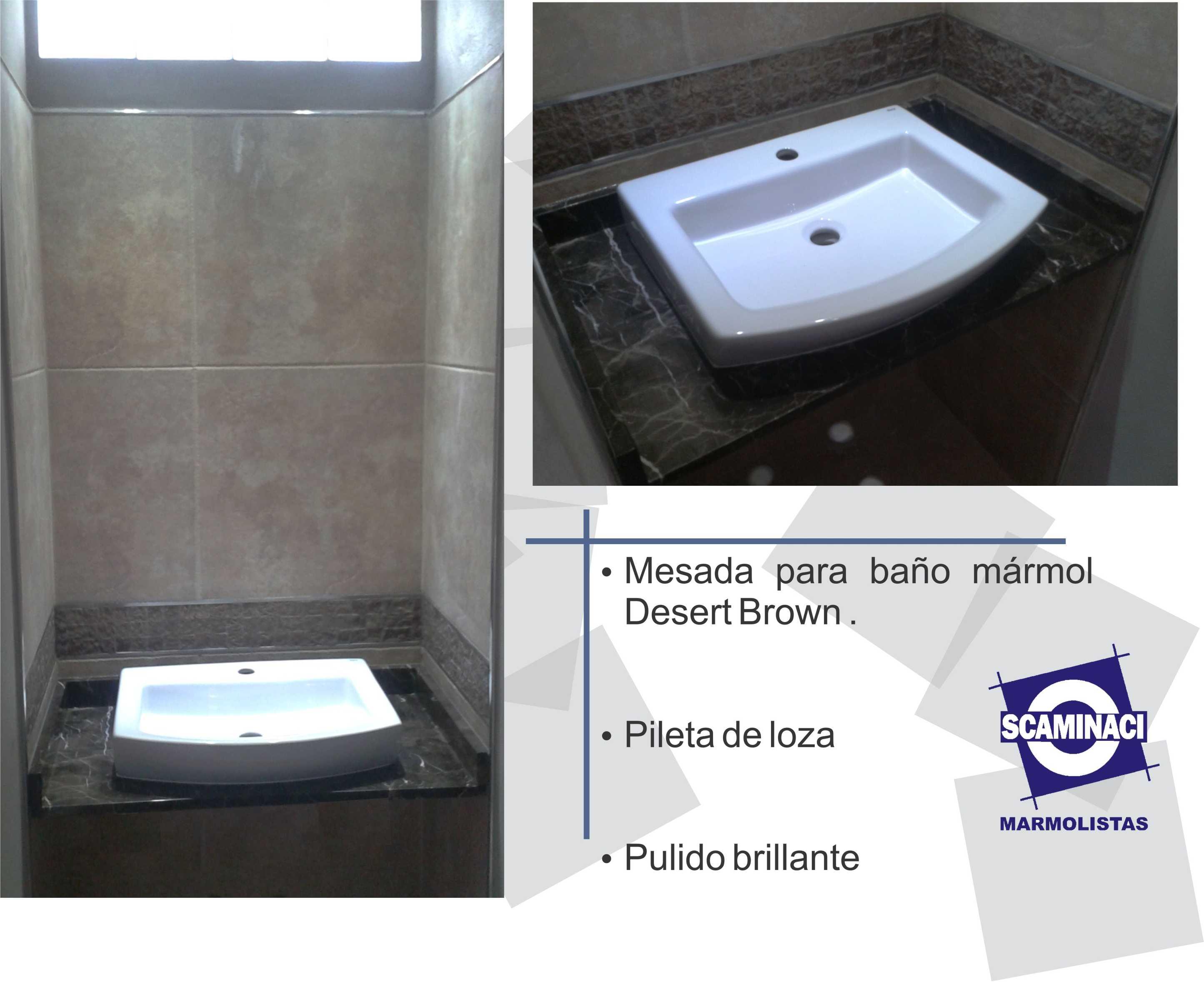 Scaminaci Marmolistas » Blog Archive » Mesada para baño ...