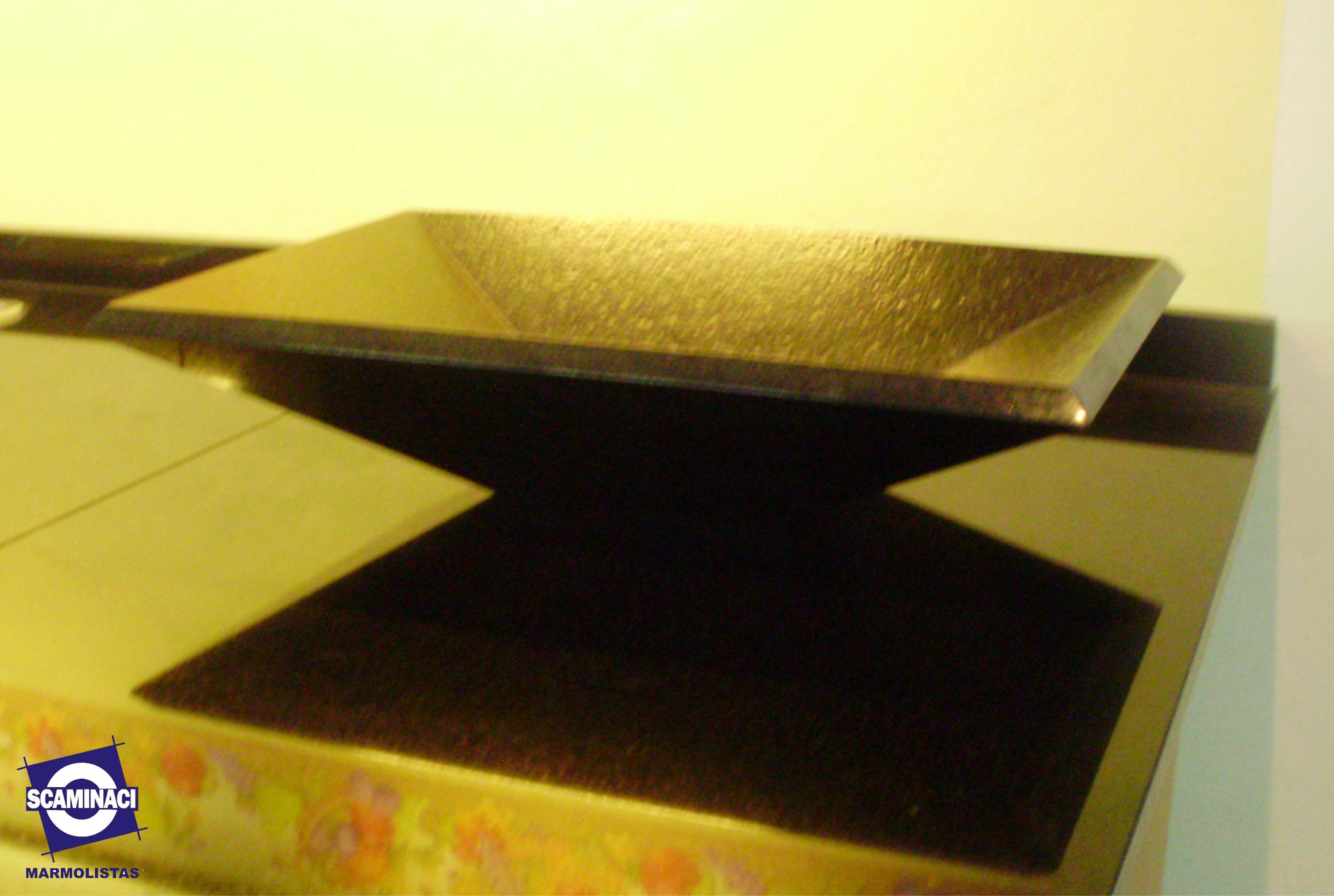 Scaminaci marmolistas blog archive bacha de granito for Granito negro brillante